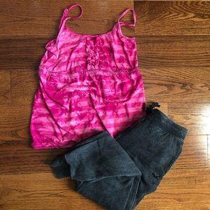Pink Tye Dye Tank